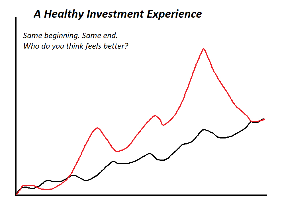 a healthy investment experience